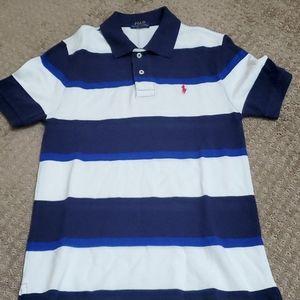 Boys Polo Ralph Lauren stripe polo